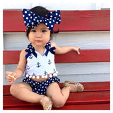Brigitte Polka Dots Baby Girl Clothing Set - Gaia Spot