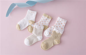 Spring Grey Children Socks