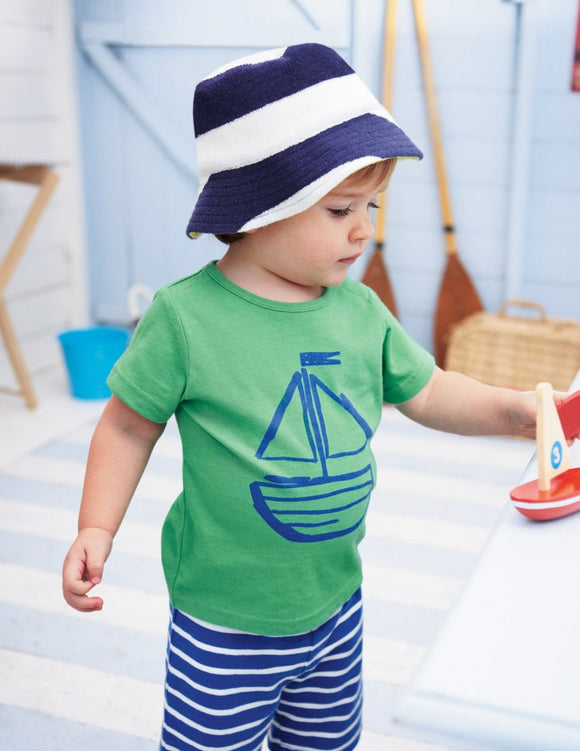 Elijah Summer Shirt and Striped Shorts Clothing Set - Gaia Spot
