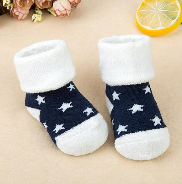 Warm Star Children Socks