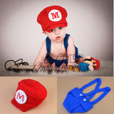 Mario and Louis Baby Boys Photography Props