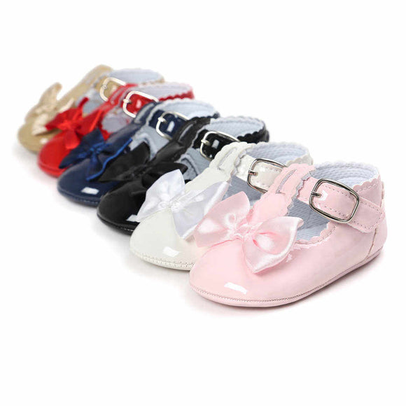 Baby Girl Moccasin Shoe