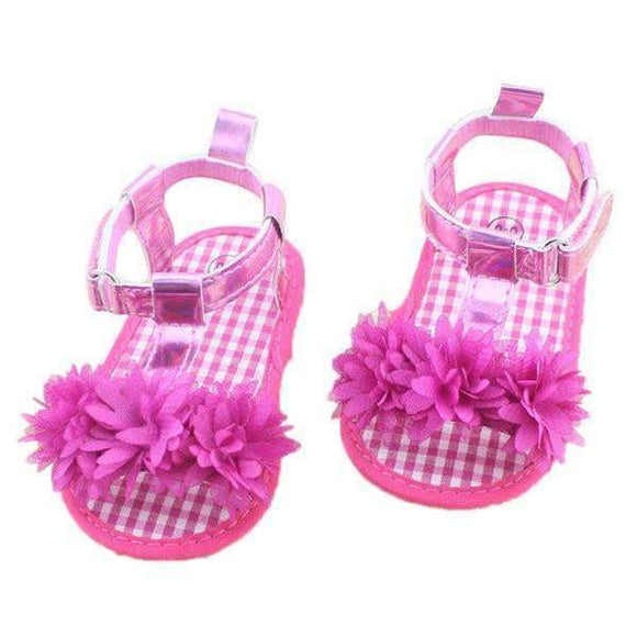 Summer Prewalker Sandals for Baby Girl with Anti-slip Sole