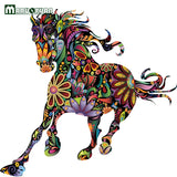 Abstract Decorative Horse Wall Sticker