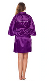 Bride / Bridesmaid / Maid of Honor / Flower Girl's Silk Robes