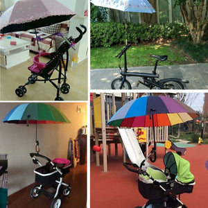 Adjustable support For Umbrella Stroller Attachment