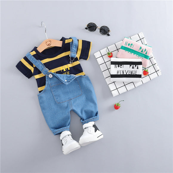 Summer Baby Boy Outfit 2Pcs