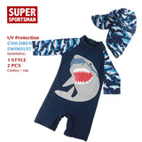 Cartoon Shark Swimsuit