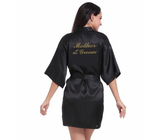 "Lovely ""Mother of the Groom"" Wedding Silk Robes - Gaia Spot"