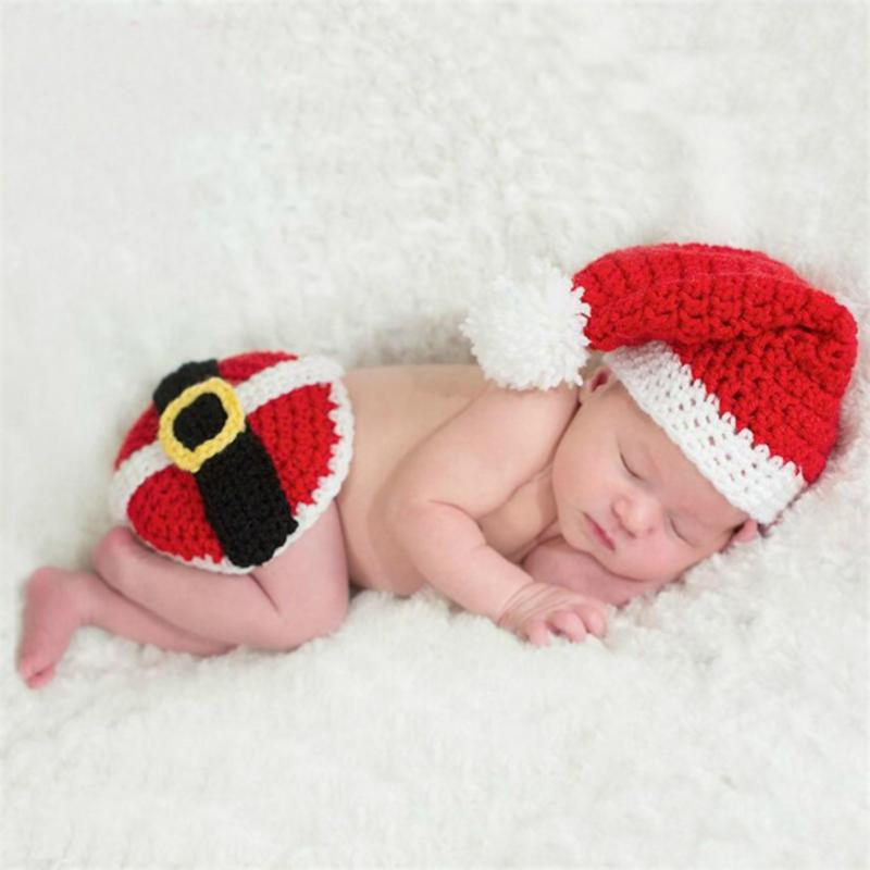 Emmanuelle christmas knitted hats photography prop