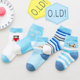 Nautical Sailor Children Socks