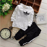Baby Sweatshirt And Sports Pants Spring Outfit