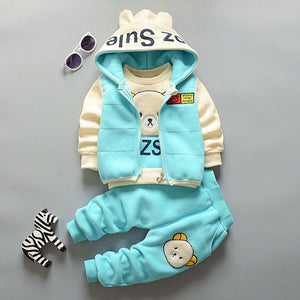 Fall Baby Bear Hoodie Outfit