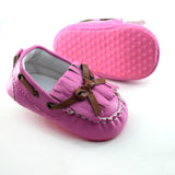 Baby Girls First Walker Butterfly Knot  Moccasin Shoes