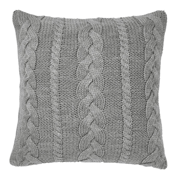 Cable Knit Cushion - Aura - Available at Pippy