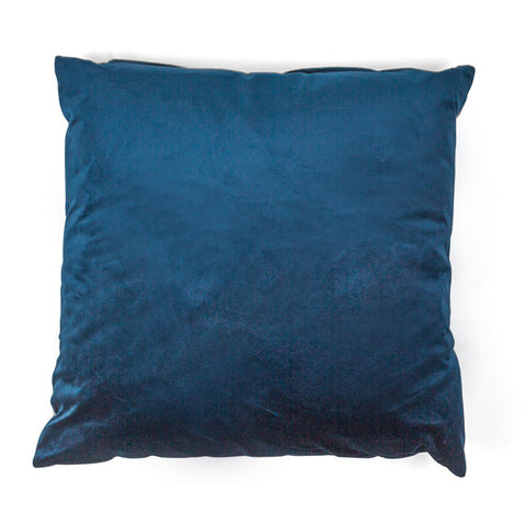 Petrol Blue Velvet Cushion - SALE