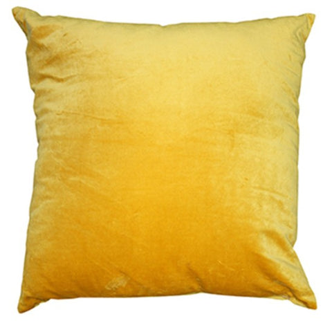 Gold Velvet Cushion - Mulberi - SALE