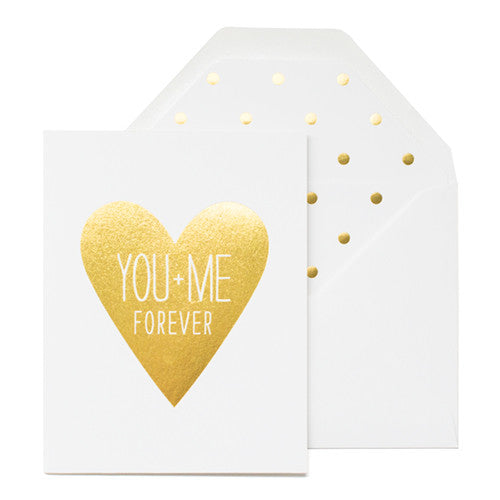 You + Me Forever Card by Sugar Paper Los Angeles