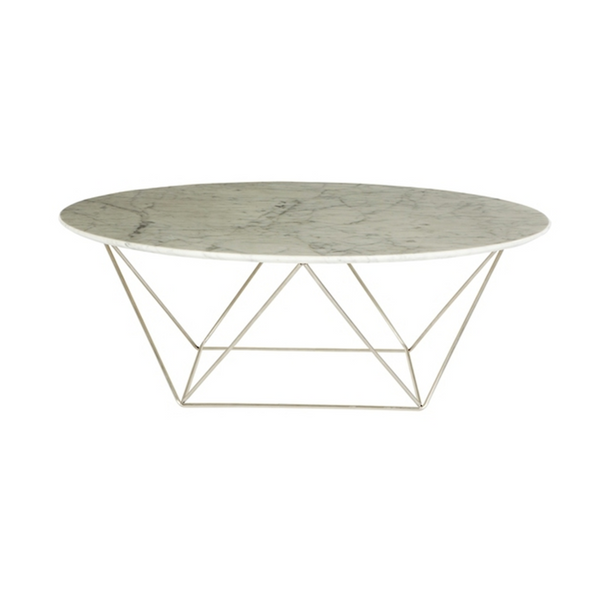Home / Collections / GlobeWest. Marble Como Coffee Table   Custom Ordered