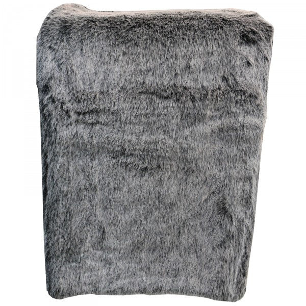 Faux Fur Black Bear Throw . Available at Pippy Homeware.