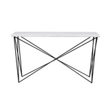 Elle Criss-Cross Console - GlobeWest - Beautiful Furniture at Pippy Homeware