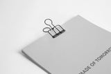 Black Bulldog Clip - Made of Tomorrow - Available at Pippy.