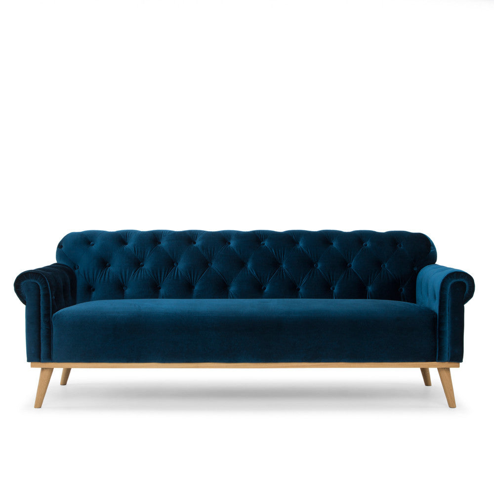 Blue Chesterfield Sofa - Me & My Trend - Available at Pippy.
