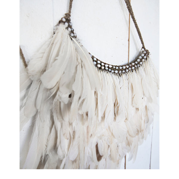 Love Warriors Aesthete Feather Bag