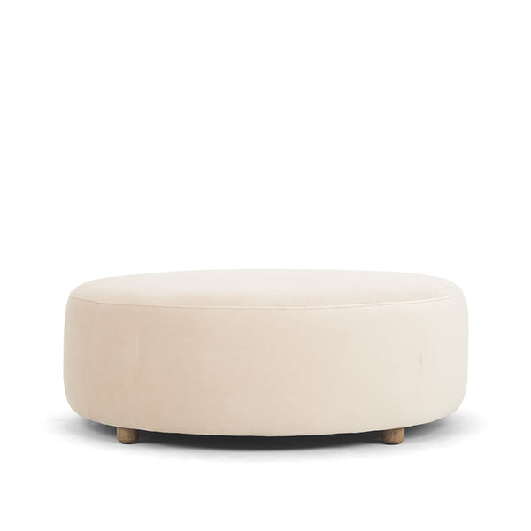 Drum Ottoman - Dusky Pink - COMING SOON - Available on Pre-order