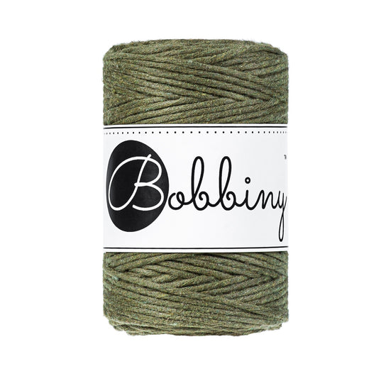 Bobbiny Single Twist Macrame Cord - Baby 1.5mm - Avocado