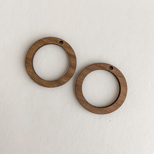 Accessories - Bamboo Earrings Small Circles