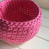 Patterns - Crochet Basket Pattern - PDF