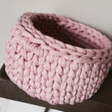 Where can I find Patterns Crochet Basket Pattern PDF? This pattern is designed using our T-shirt Yarn and is recommended for beginners. You will need a 10mm (US N/P) or similar hook. It is written in US terminology and does not include any abbreviations. 8 pages in length, including step-by-step photographs. You will receive a PDF copy via email within 24 hours after your order is complete.