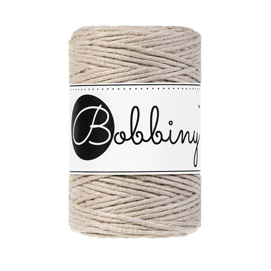 Bobbiny Single Twist Macrame Cord - Baby 1.5mm - Beige