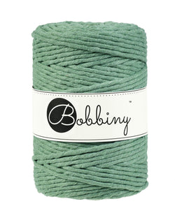 This super soft cord is perfect for Macrame or any other fibre art, and makes the most spectacular fringes and tassels.  It is made from 100% recycled cotton, is single twist and contains 112 individual fibres.  It contains no harmful substances and is approved to Oeko-Tex standards.  The inner spool is made from recycled paper and is biodegradable.  Length 100m (108 yards)  Weight 660 gms