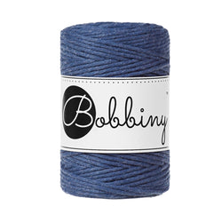Bobbiny Single Twist Macrame Cord - Baby 1.5mm - Jeans