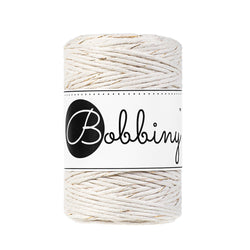 Bobbiny Single Twist Macrame Cord - Baby 1.5mm - Golden Natural