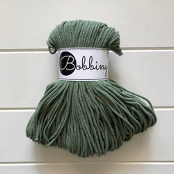 These beautiful Bobbiny ropes are made in Poland, and are non-toxic and certified safe for children, meeting certified worldwide textile standards.  3mm Diameter  100 metres Length  Recommended for use with 8-10mm crochet or knitting needles  Cotton inner and outer layers, perfect for use with Macrame, Crochet or Knitting