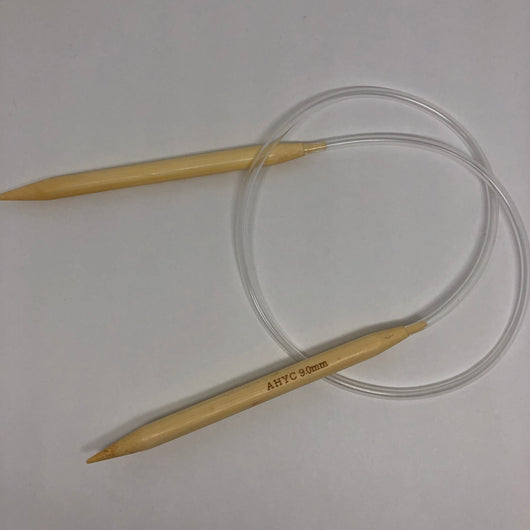 Where can I find bamboo circular knitting needles 9mm