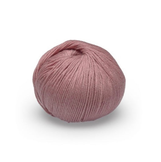 This gorgeous Glencoul DK yarn is ideal for all seasons! It has the beautiful feel and sheen of cotton but the durability of wool, making it ideal for garments to wear all year round.  70% Merino/ 30% Cotton  DK/8 ply weight  116m (126 yards)  50 gms  Needle size: 4mm   Cold machine wash, do not iron or tumble dry