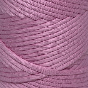 Luxury Cotton Large in Flamingo Close Up