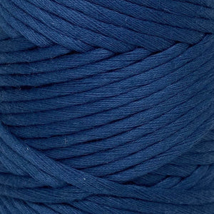 Luxury Cotton Large in Indigo Close Up