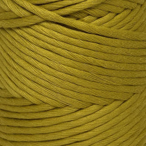 Luxury Cotton Large in Mustard Sheen Close Up