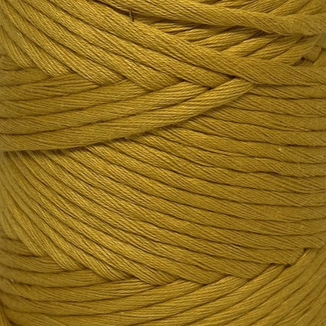 Luxury Cotton Large in True Mustard