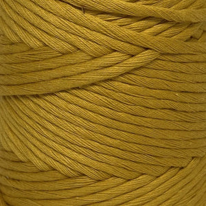 Luxury Cotton Large in True Mustard Close Up