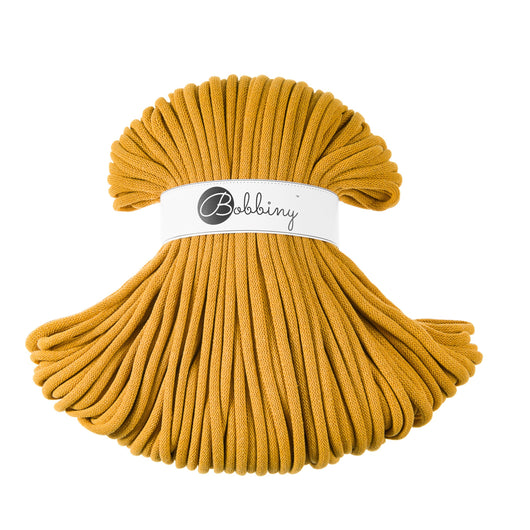 Bobbiny Cotton Cords - Bobbiny Jumbo 9mm - 100m - Mustard