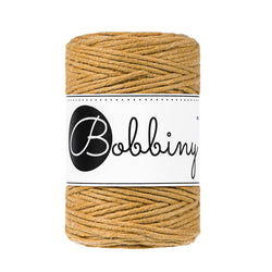 Bobbiny Single Twist Macrame Cord - Baby 1.5mm - Mustard