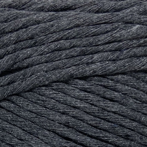 Where can I find Big Cotton BLACKS/GREYS Dark Grey? This cotton blend yarn can be put to use for crochet, weaving, knitting or even mini macrame projects. +/- 180 metres in length and consisting of 80% cotton fibres. 12/14 ply, Super Bulky, perfect for use with 5mm - 10mm hooks.