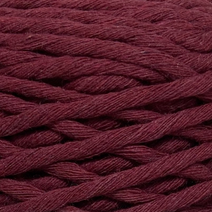 Where can I find Big Cotton REDS Garnet? This cotton blend yarn can be put to use for crochet, weaving, knitting or even mini macrame projects. +/- 180 metres in length and consisting of 80% cotton fibres. 12/14 ply, Super Bulky, perfect for use with 5mm - 10mm hooks.
