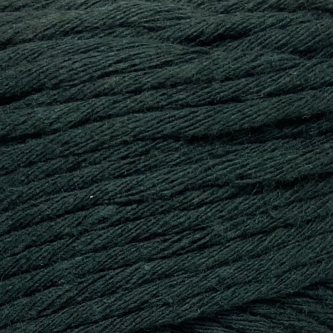 Where can I find Big Cotton GREENS Lush Green? This cotton blend yarn can be put to use for crochet, weaving, knitting or even mini macrame projects. +/- 180 metres in length and consisting of 80% cotton fibres. 12/14 ply, Super Bulky, perfect for use with 5mm - 10mm hooks.